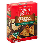 Keebler Town House Italian Cheese & Herb Pita Crackers