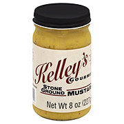 Kelley's Gourmet Stone Ground Gourmet Mustard