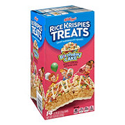 Kellogg's Birthday Cake Rice Krispies Treats