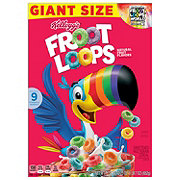 Kellogg's Froot Loops Cereal Giant Size