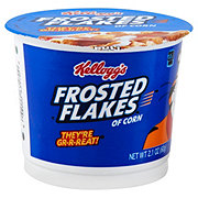 Kellogg's Frosted Flakes of Corn Cereal Cup