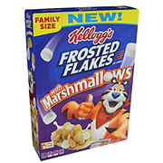 Kellogg's Frosted Flakes with Marshmallows Cereal Family Size