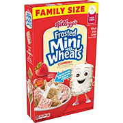 Kellogg's Frosted Mini-Wheats Strawberry Cereal Family Size
