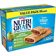 Kellogg's Nutri-Grain Apple Cinnamon Cereal Bars Value Pack