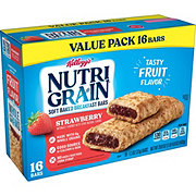 Kellogg's Nutri-Grain Strawberry Cereal Bars Value Pack