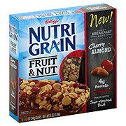 Kellogg's Nutrigrain Fruit & Nut Cherry Almond Chewy Breakfast Bars