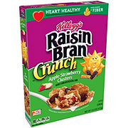 Kellogg's Raisin Bran Crunch Apple Strawberry Cereal