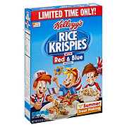 Kellogg's Rice Krispies with Red & Blue Cereal