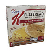 Kellogg's Special K Bacon, Egg & Cheese Medley Flatbread Breakfast Sandwich
