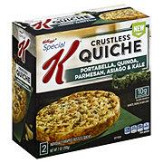 Kellogg's Special K Crustless Portabella, Kale & Quinoa Quiche