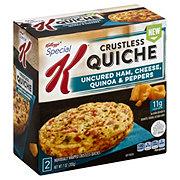 Kellogg's Special K Crustless Quiche Ham