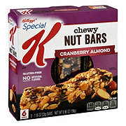 Kellogg's Special K Nourish Chewy Nut Bar Cranberry Almond