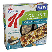 Kellogg's Special K Nourish Chewy Nut Bars Chocolate Coconut Cashew