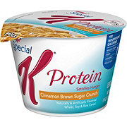 Kellogg's Special K Protein Cinnamon Brown Sugar Crunch Cereal Cup