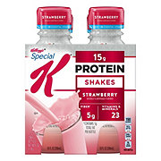 Kellogg's Special K Strawberry Protein Shakes 10 oz bottles