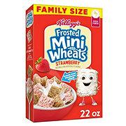 KELLOGGS Kelloggs Frosted Mini Wheat Strawberry Delight Bite Size
