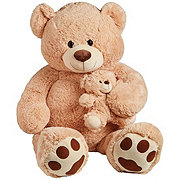 Kellytoy Cuddle Bear With Baby Bear