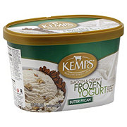 Kemps Butter Pecan Smooth and Creamy Frozen Yogurt