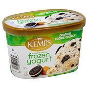 Kemps Caramel Cookie Crunch Frozen Yogurt