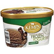 Kemps Chocolate Smooth & Creamy Low Fat Frozen Yogurt