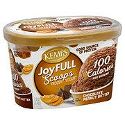 Kemps Joyfull Scoops Chocolate Peanut Butter Frozen Yogurt