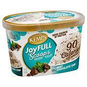 Kemps Joyfull Scoops Mint Chocolate Chip Frozen Yogurt