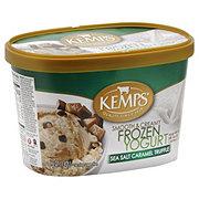 Kemps Sea Salt Caramel Fudge Truffle Frozen Yogurt