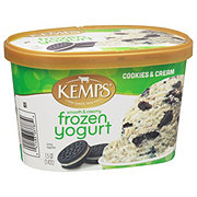 Kemps Smooth & Creamy Cookies & Cream Frozen Yogurt