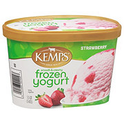 Kemps Smooth & Creamy Strawberry Frozen Yogurt