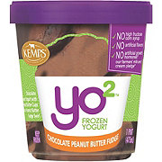 Kemps Yo 2 Chocolate Peanut Butter Fudge Frozen Yogurt