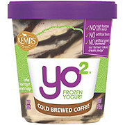 Kemps Yo 2 Cold Brewed Coffee Frozen Yogurt
