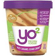 Kemps Yo 2 Salty Caramel Cookie Crunch Frozen Yogurt