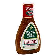 Ken's Steak House Italian with Extra Virgin Olive Oil Dressing & Topping