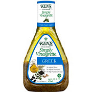 Ken's Steak House Simply Vinaigrette Greek