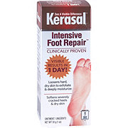 Kerasal Exfoliating Moisturizer One Step Foot Ointment-BONUS SIZE