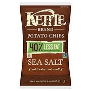 Kettle Potato Chips Reduced Fat Sea Salt