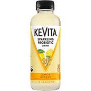 KeVita Lemon Ginger Sparkling Probiotic Drink
