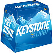 Keystone Light Beer 12 oz Bottles