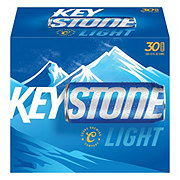 Keystone Light Beer 30 PK Cans