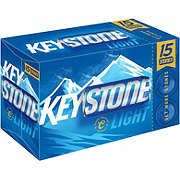 Keystone Light Cans 12 oz