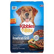 Kibbles 'n Bits American Grill Grilled USA Beef Steak Flavor Dry Adult Dog Food