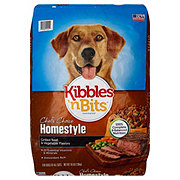 Kibbles 'n Bits Homestyle Dog Food Grilled Beef Steak & Vegetable Flavor