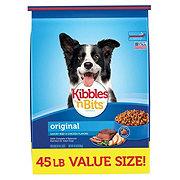 Kibbles 'n Bits Original Dry Dog Food Value Size
