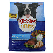 Kibbles 'n Bits Original Savory Beef & Chicken Dry Dog Food