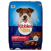 Kibbles 'n Bits Small Breed Mini Bits Beef & Chicken Dry Dog Food
