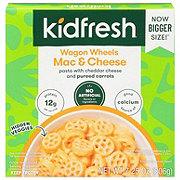 Kidfresh Mac + Cheese, Wagon Wheels