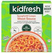 Kidfresh Spaghetti Loops + Meat Sauce