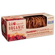 Kii Naturals Crisps Cranberry & Cashew