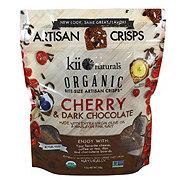 Kii Naturals Organic Cherry & Dark Chocolate Crisps