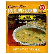 Kikkoman Chinese Style Egg Flower Corn Soup Mix